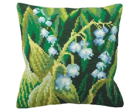 Подушка для вышивания Ландыш