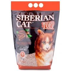 Наполнитель для кошачьего туалета, Сибирская Кошка, Тофу Кофе