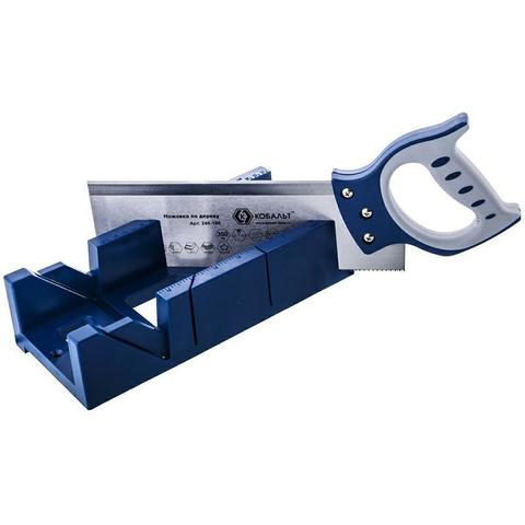 Ножовка по дереву КОБАЛЬТ 300 мм, шаг 2 мм/12 TPI, закаленный зуб, 2D-заточка, двухкомпоне (246-180)