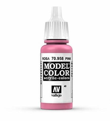 Model Color Pink 17 ml.
