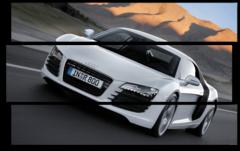 """Модульная картина """"Audi R8"""""""