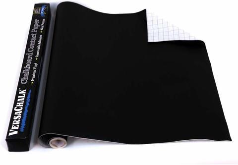 Винил на клеевой основе с покрытием меловой доски  VersaChalk Chalkboard Contact Paper W/Marker 45х244см