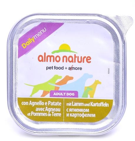 Консервы (ламистер) Almo Nature Daily Menu - Lamb with potatoes