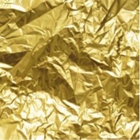 Полисилк мет. (1м х 20м) Цвет: золотой