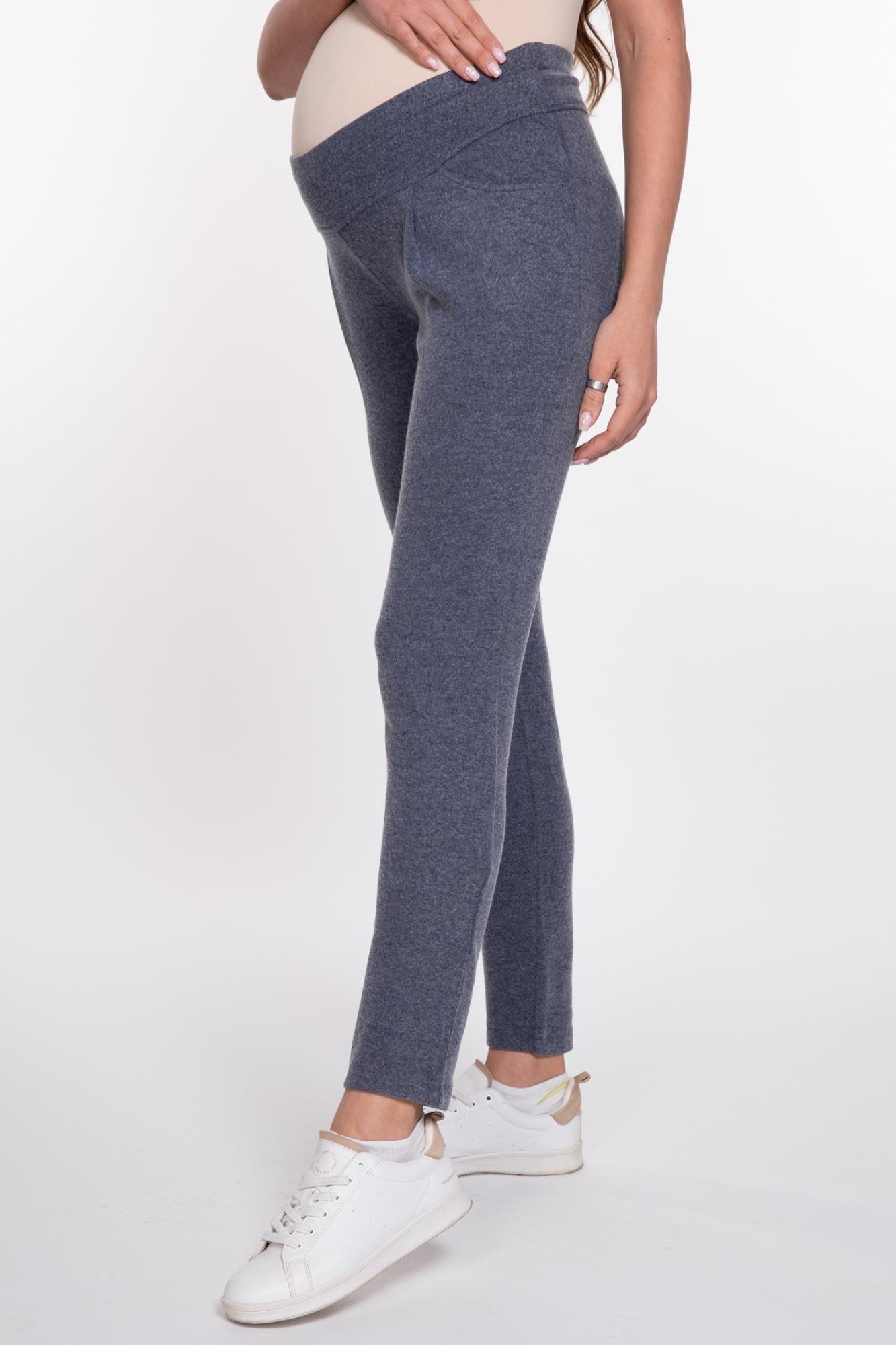 Спортивные брюки для беременных 08967 синий