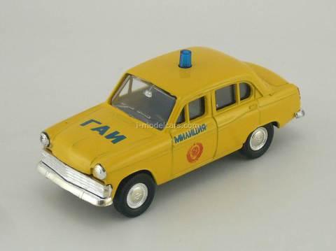 Moskvich-403 GAI USSR Police  Agat Mossar Tantal 1:43