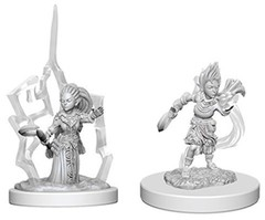 Pathfinder Deep Cuts Unpainted Miniatures - Gnome Female Druid