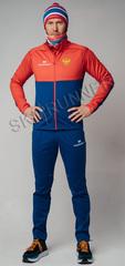 Утеплённый лыжный костюм Nordski Premium Patriot мужской