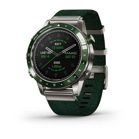 Купить Люксовые мультиспортивные часы Garmin MARQ Golfer (010-02395-00) по доступной цене