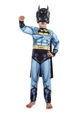 Бэтмен костюм с мускулами детский