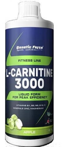 Genetic Force L-карнитин 3000 Малина -Черника, 1 л