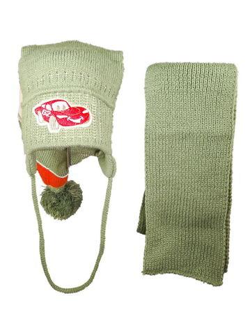 Шапка и шарф на мальчика R47 фото 1
