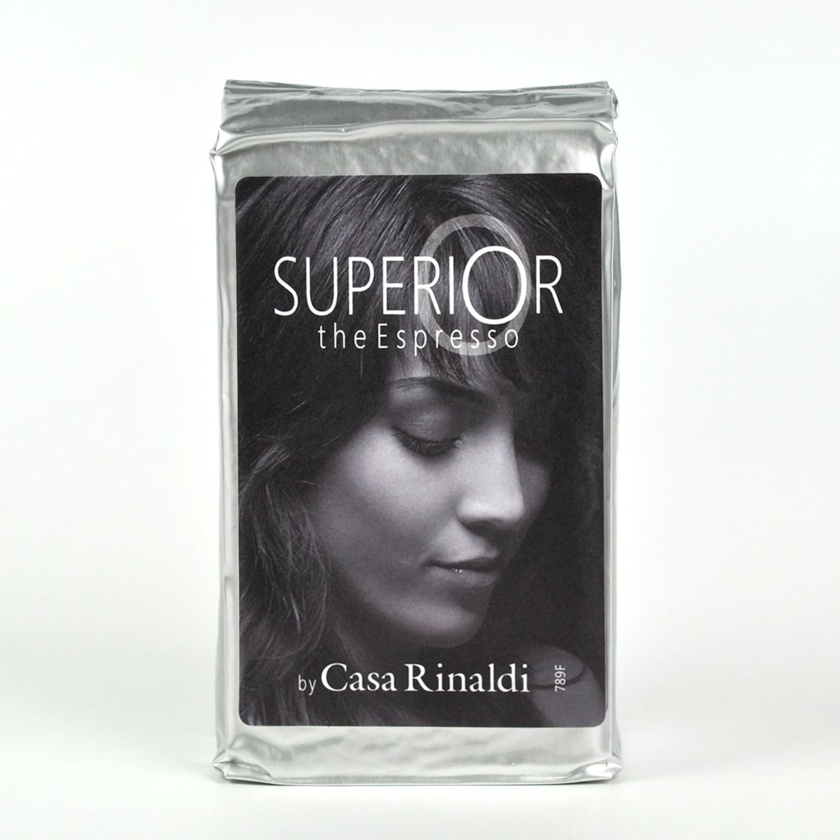 Кофе Casa Rinaldi натуральный жареный эспрессо Супер Арабика молотый 250 г