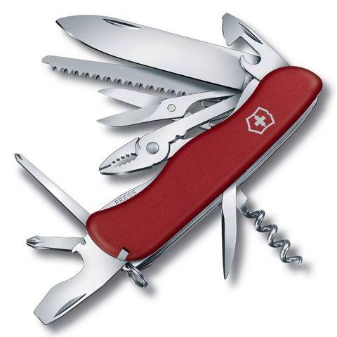 Нож перочинный Victorinox HERCULES (0.8543) 111мм 18функций красный