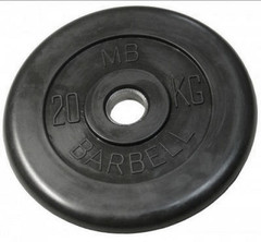 Диск Barbell MB 15 кг (31 мм)