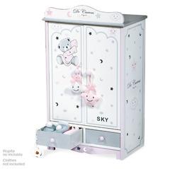 DeCuevas Гардеробный шкаф для куклы серии