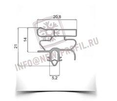 Уплотнитель 99*57см для холодильника  Electrolux ERB34090X (холодильная камера) Профиль 010