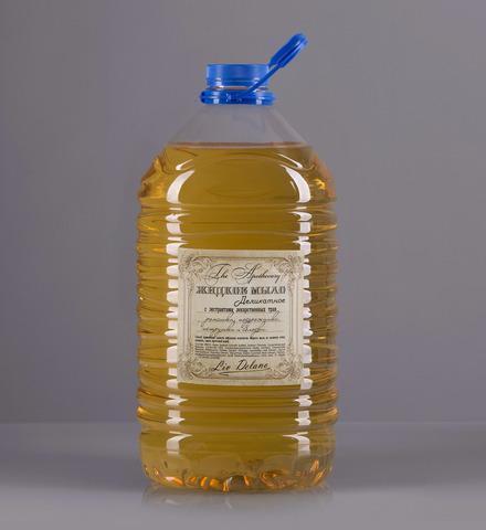 Liv delano The Apothecary Жидкое мыло деликатное с экстрактами лекарственных трав ромашки, подорожника, петрушки и солодки. Без запаха. 5000г