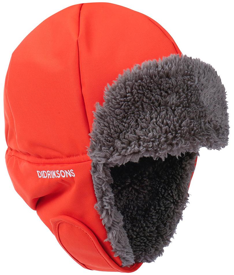 Детская шапка BIGGLES маково-оранжевый