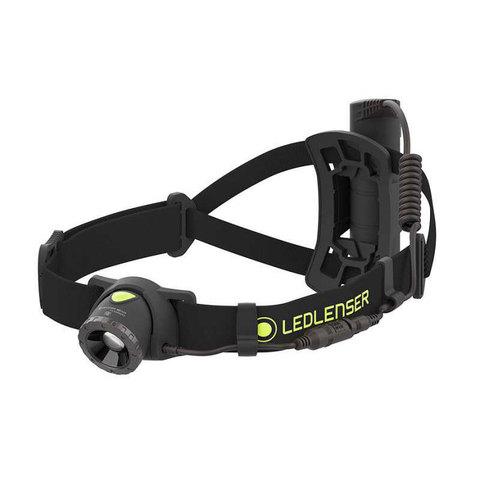 Фонарь светодиодный налобный LED Lenser NEO10R, черный, 600 лм, аккумулятор