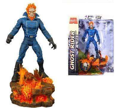 Марвел Селект фигурка Призрачный Гонщик — Marvel Select Ghost Rider