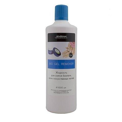 Жидкость для снятия гель-лака и биогеля 1000 ml.