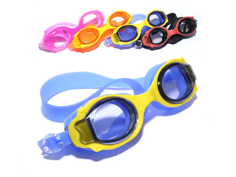 Очки для плавания детские с силиконовой оправой. AF-2500
