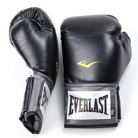 Перчатки боксерские Pro Style Anti-MB Everlast чёрные