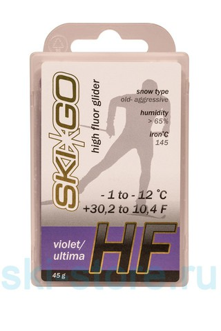 Картинка парафин Skigo HF 45 (-1/-12)