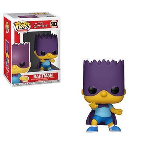 Фигурка Funko POP! Vinyl: Simpsons S2: Bart-Bartman 33876