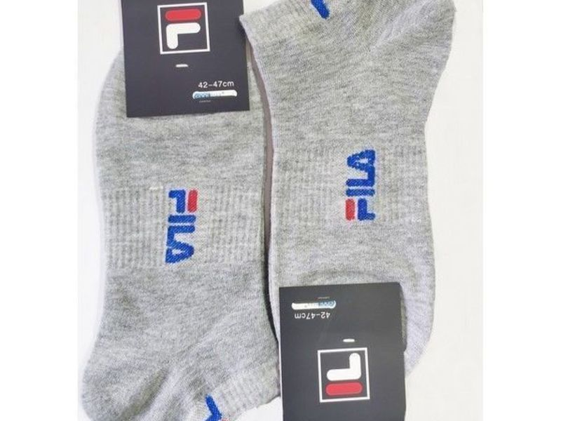 Мужские носки FILA светло-серые 2 шт.