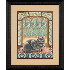 DIMENSIONS Кот в окошке (Cat in Window)