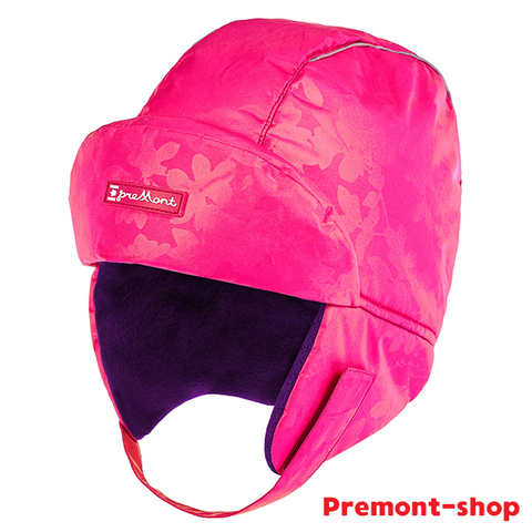 Premont шапка-ушанка WP91864 PINK