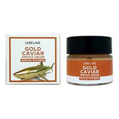 Lebelage Gold Caviar Ampule Cream - Ампульный крем с экстрактом икры