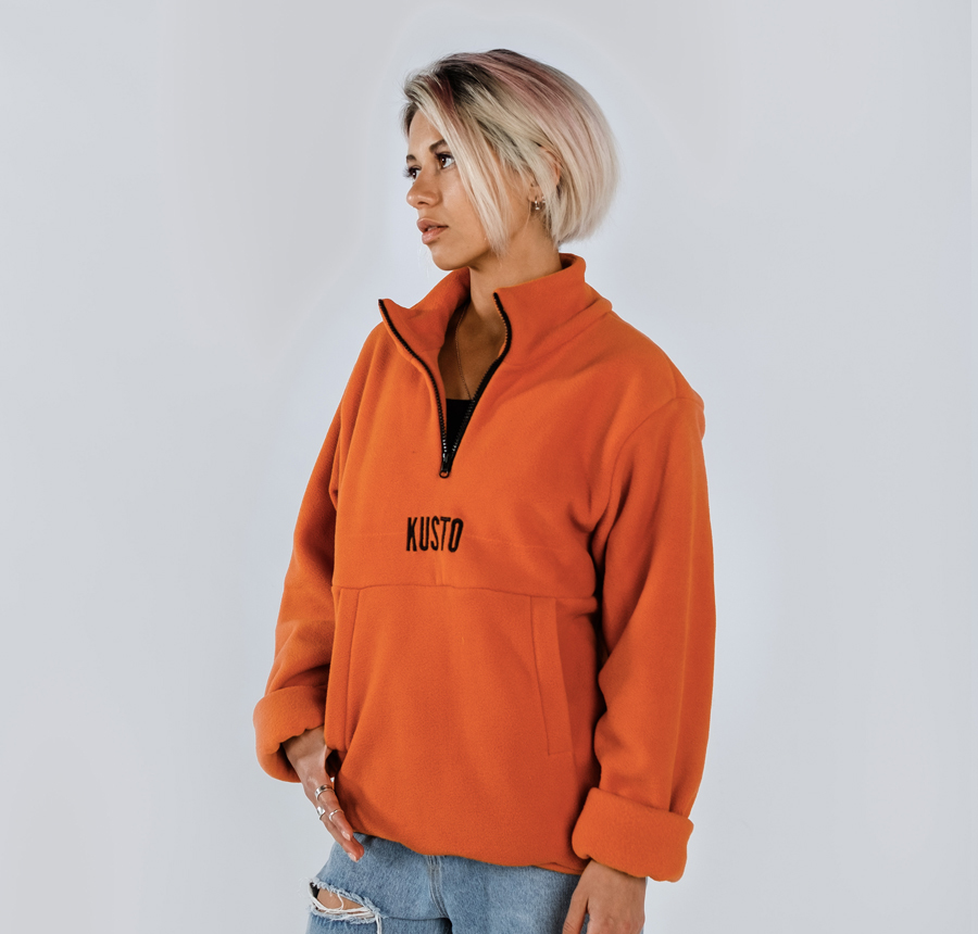 Fleece Tangerine