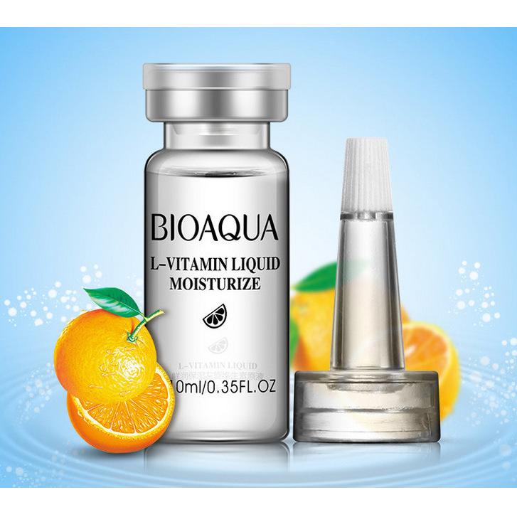 Сыворотка с гиалуроновой кислотой и витамином С, 10мл