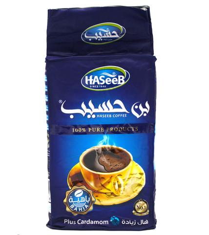Арабский кофе Plus Cardamom, Haseeb, 500 г