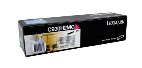 Картридж Lexmark C930H2MG пурпурный