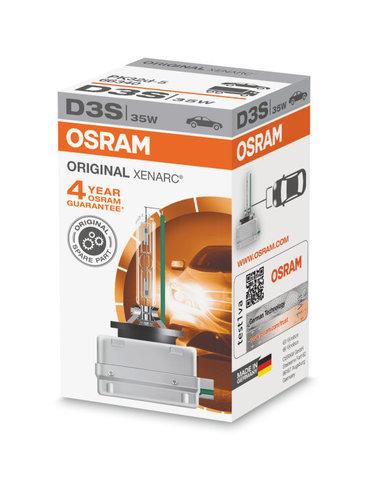 D3S Xenarc ORIGINAL Ксеноновая лампа OSRAM (артикул 66340)