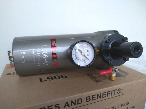 Влагомаслоотделитель  STAR L 906-M  с ручным сбросом конденсата