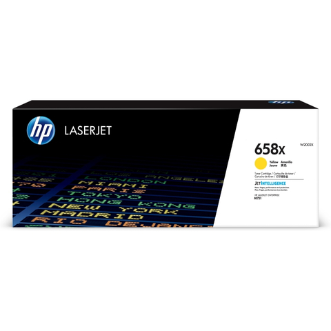 Картридж HP 658X желтый (W2002X)