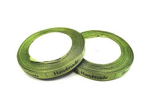 Летна Handmade 10мм*25ярд (Цвет зеленый).