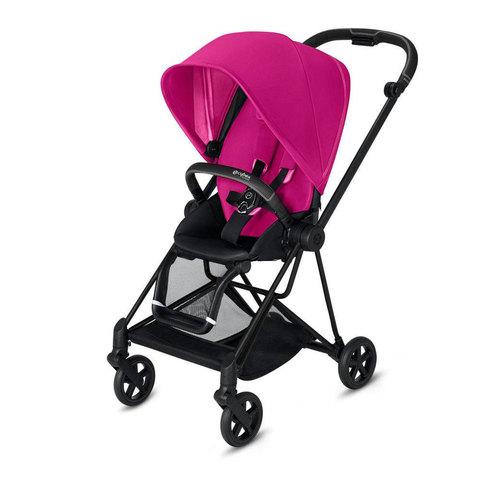 Прогулочная коляска  Cybex Mios Fancy Pink matt black