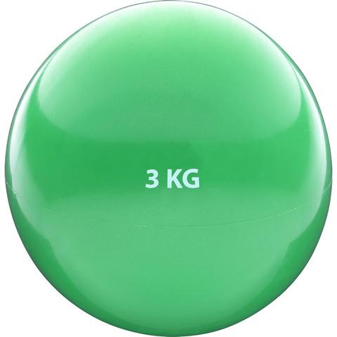 HKTB9011-3 Медбол 3кг., (зеленый) (ПВХ/песок)
