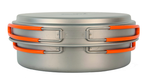 Кастрюля Novaya Zemlya 1,25 л Titanium Cookware TS-017