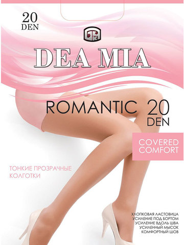 Колготки Romantic 20 Dea Mia
