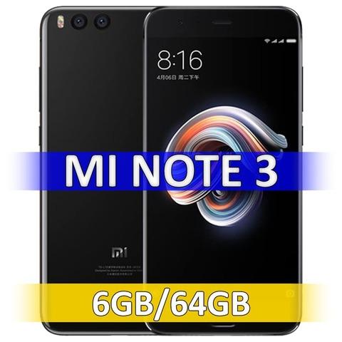 Xiaomi Mi Note 3 (6-64Gb) Black