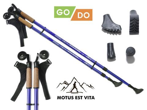 Палки для скандинавской ходьбы GO DO :G-DS3-С