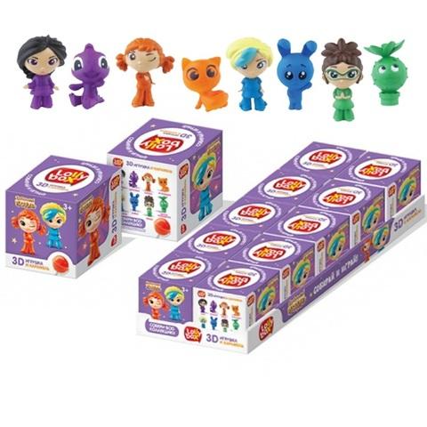 LOLLY BOX СКАЗОЧНЫЙ ПАТРУЛЬ Карамель на палочке с игрушкой в коробочке 1кор*12бл*10шт, 11,4г.