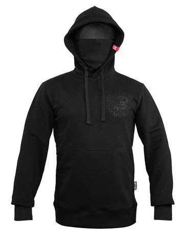 Black insulated hoodie